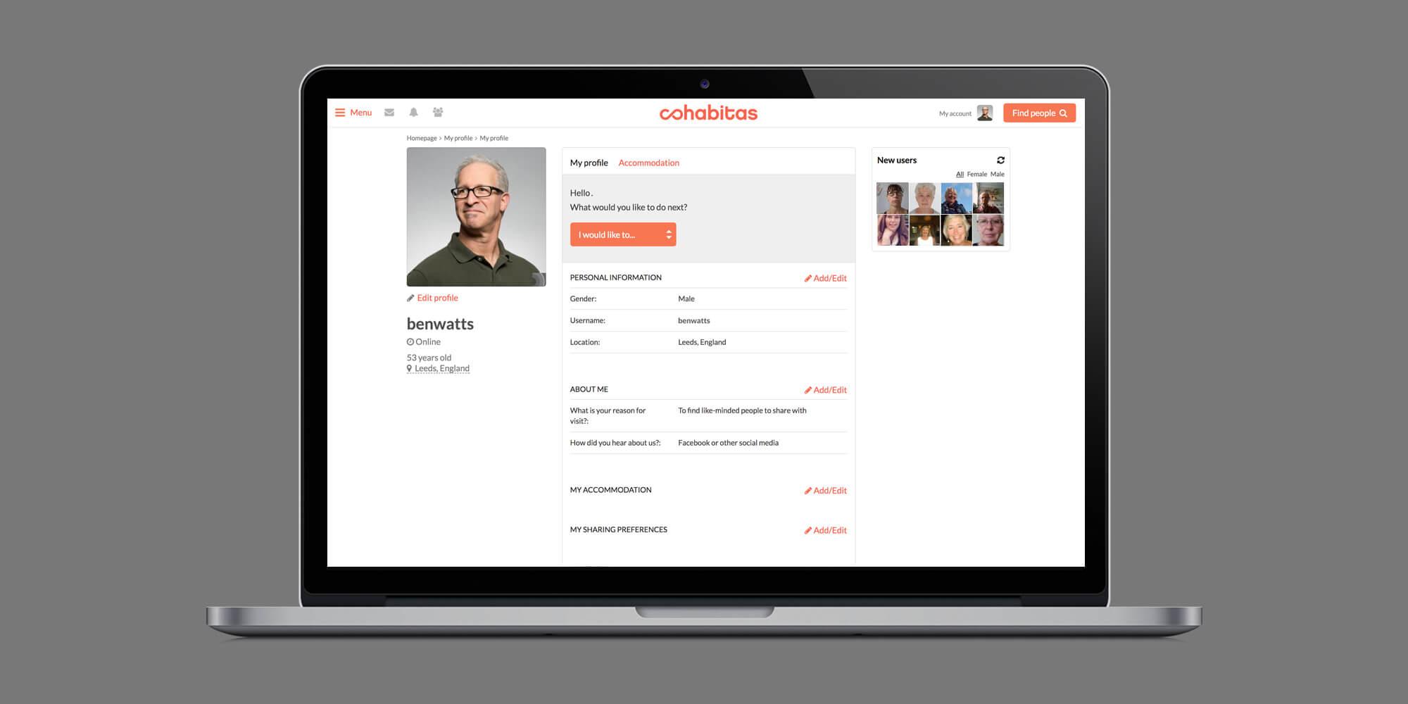 Cohabitas - portfolio image
