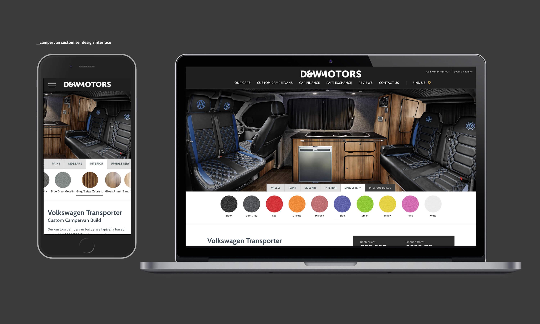 D&W Motors - portfolio image