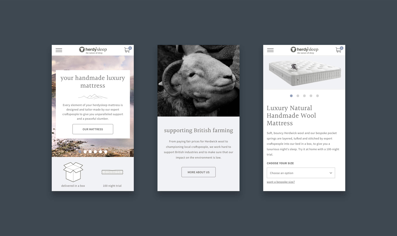herdysleep - portfolio image